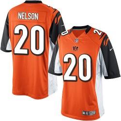Cincinnati Bengals Reggie Nelson Official Nike Orange Limited Adult Alternate NFL Jersey