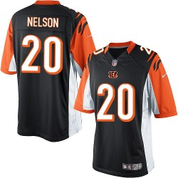 Cincinnati Bengals Reggie Nelson Official Nike Black Limited Adult Home NFL Jersey
