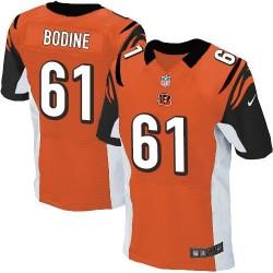 Cincinnati Bengals Russell Bodine Official Nike Orange Elite Adult Alternate NFL Jersey