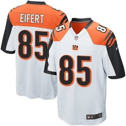 Cincinnati Bengals Tyler Eifert Official Nike White Limited Youth Road NFL Jersey