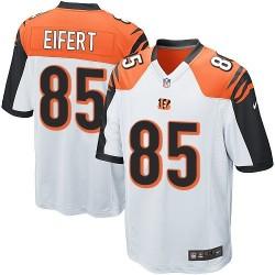 Cincinnati Bengals Tyler Eifert Official Nike White Elite Youth Road NFL Jersey
