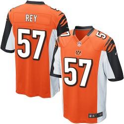 Cincinnati Bengals Vincent Rey Official Nike Orange Elite Youth Alternate NFL Jersey