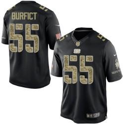 Cincinnati Bengals Vontaze Burfict Official Nike Black Elite Adult Salute to Service NFL Jersey