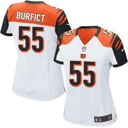Cincinnati Bengals Vontaze Burfict Official Nike White Elite Women's Road NFL Jersey