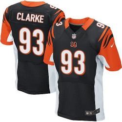 Cincinnati Bengals Will Clarke Official Nike Black Elite Adult Home NFL Jersey