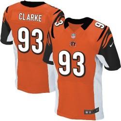 Cincinnati Bengals Will Clarke Official Nike Orange Elite Adult Alternate NFL Jersey