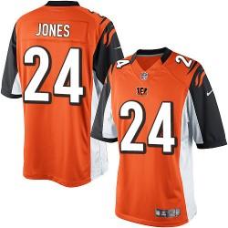 Cincinnati Bengals Adam Jones Official Nike Orange Limited Adult Alternate NFL Jersey