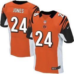 Cincinnati Bengals Adam Jones Official Nike Orange Elite Adult Alternate NFL Jersey