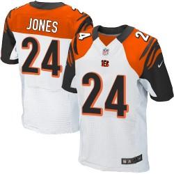 Cincinnati Bengals Adam Jones Official Nike White Elite Adult Road NFL Jersey