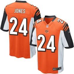 Cincinnati Bengals Adam Jones Official Nike Orange Elite Youth Alternate NFL Jersey