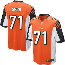 Cincinnati Bengals Andre Smith Official Nike Orange Game Adult Alternate NFL Jersey
