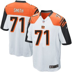 Cincinnati Bengals Andre Smith Official Nike White Game Adult Road NFL Jersey