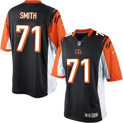 Cincinnati Bengals Andre Smith Official Nike Black Limited Adult Home NFL Jersey