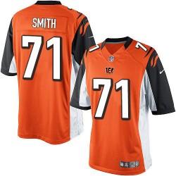 Cincinnati Bengals Andre Smith Official Nike Orange Limited Adult Alternate NFL Jersey