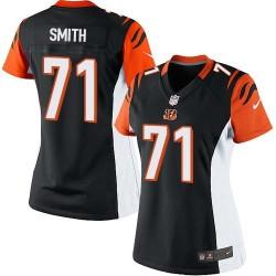 Cincinnati Bengals Andre Smith Official Nike Black Elite Women's Home NFL Jersey