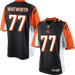 Cincinnati Bengals Andrew Whitworth Official Nike Black Limited Adult Home NFL Jersey