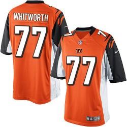 Cincinnati Bengals Andrew Whitworth Official Nike Orange Limited Adult Alternate NFL Jersey