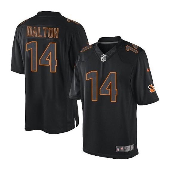 Cincinnati Bengals Andy Dalton Official Nike Black Impact Elite Adult NFL Jersey