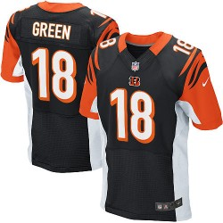 Cincinnati Bengals A.J. Green Official Nike Black Elite Adult Home NFL Jersey