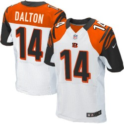 Cincinnati Bengals Andy Dalton Official Nike White Elite Adult Road NFL Jersey