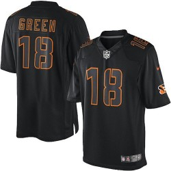 Cincinnati Bengals A.J. Green Official Nike Black Impact Elite Adult NFL Jersey