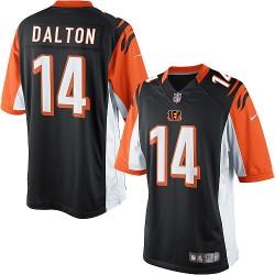 Cincinnati Bengals Andy Dalton Official Nike Black Limited Adult Home NFL Jersey