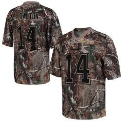 Cincinnati Bengals Andy Dalton Official Nike Camo Game Adult Realtree NFL Jersey