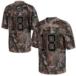 Cincinnati Bengals A.J. Green Official Nike Camo Elite Adult Realtree NFL Jersey
