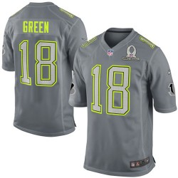 Cincinnati Bengals A.J. Green Official Nike Grey Elite Adult 2014 Pro Bowl NFL Jersey
