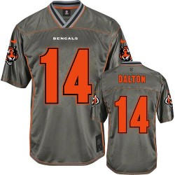 Cincinnati Bengals Andy Dalton Official Nike Grey Limited Youth Vapor NFL Jersey