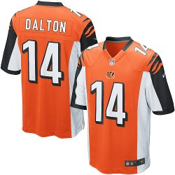 Cincinnati Bengals Andy Dalton Official Nike Orange Limited Youth Alternate NFL Jersey