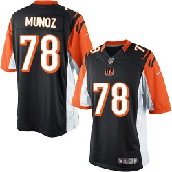Cincinnati Bengals Anthony Munoz Official Nike Black Limited Adult Home NFL Jersey