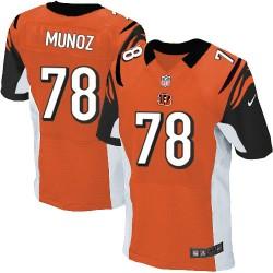 Cincinnati Bengals Anthony Munoz Official Nike Orange Elite Adult Alternate NFL Jersey