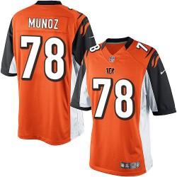 Cincinnati Bengals Anthony Munoz Official Nike Orange Limited Adult Alternate NFL Jersey