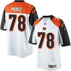 Cincinnati Bengals Anthony Munoz Official Nike White Limited Adult Road NFL Jersey