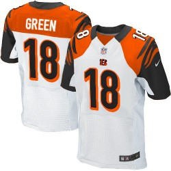 Cincinnati Bengals A.J. Green Official Nike White Elite Adult Road NFL Jersey