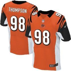 Cincinnati Bengals Brandon Thompson Official Nike Orange Elite Adult Alternate NFL Jersey