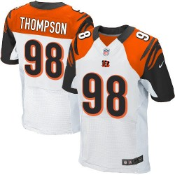 Cincinnati Bengals Brandon Thompson Official Nike White Elite Adult Road NFL Jersey
