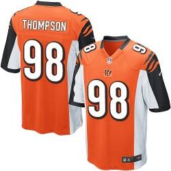 Cincinnati Bengals Brandon Thompson Official Nike Orange Game Adult Alternate NFL Jersey