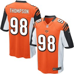 Cincinnati Bengals Brandon Thompson Official Nike Orange Limited Youth Alternate NFL Jersey