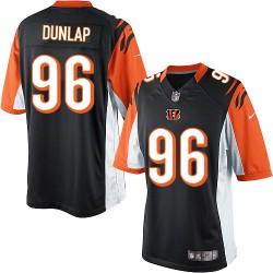 Cincinnati Bengals Carlos Dunlap Official Nike Black Limited Adult Home NFL Jersey