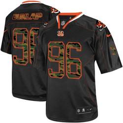 Cincinnati Bengals Carlos Dunlap Official Nike Black Elite Adult Camo Fashion NFL Jersey