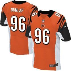 Cincinnati Bengals Carlos Dunlap Official Nike Orange Elite Adult Alternate NFL Jersey