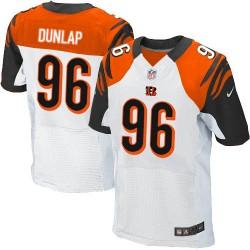 Cincinnati Bengals Carlos Dunlap Official Nike White Elite Adult Road NFL Jersey