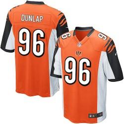 Cincinnati Bengals Carlos Dunlap Official Nike Orange Elite Youth Alternate NFL Jersey