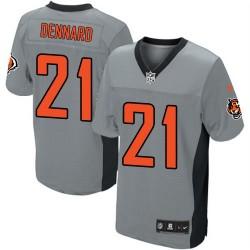 Cincinnati Bengals Darqueze Dennard Official Nike Grey Shadow Elite Adult NFL Jersey
