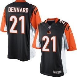 Cincinnati Bengals Darqueze Dennard Official Nike Black Limited Adult Home NFL Jersey