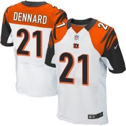 Cincinnati Bengals Darqueze Dennard Official Nike White Elite Adult Road NFL Jersey