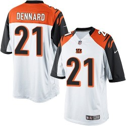 Cincinnati Bengals Darqueze Dennard Official Nike White Limited Adult Road NFL Jersey