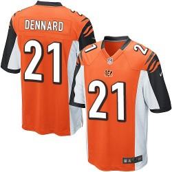 Cincinnati Bengals Darqueze Dennard Official Nike Orange Game Adult Alternate NFL Jersey
